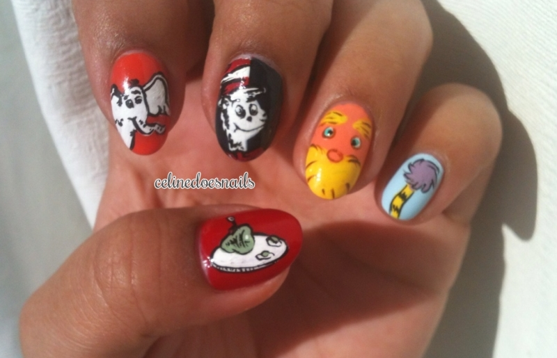 Dr Seuss Nail Art Best Nail 2018