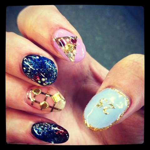 Fancy nails49