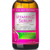 Pure Body Naturals - THE BEST ORGANIC Vitamin C Serum for Face. 20% Vitamin C + E + Hyaluronic Acid Serum. #1 Anti Aging Serum Moisturizer with Natural Ingredients, Organic Aloe + Amino Blend. Professional Anti Wrinkle Serum & Facial Skin Care Shown to Boost Collagen, Repairs Sun Damage, Dark Circles, Fades Sun & Age Spots & Reduces Fine Lines. Leaves Firm, Radiant, Beautiful, Youthful & Glowing Skin
