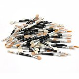 Pro 50x Double-ended Cosmetic Make Up Eye Shadow Applicators Lip Liner Brush Cosmetic Accessories