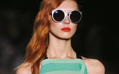 Bold lips on the Proenza Schouler runway, page 180