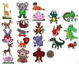 Premium Zoo Animal Temporary Tattoos - 21 Different Animals!!