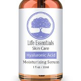 Hyaluronic Acid Serum - Best Anti-Aging Skin Care Product For Face - With Vitamin C Serum, Vitamin E & Green Tea - Reduces Wrinkles, Fine Lines & More - For Youthful & Radiant Skin`